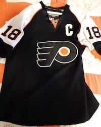 Large Mike Richards Philadelphia  Jersey... $90  Firm... Calgary