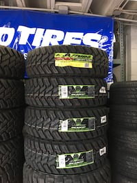 LT265/75R16 SET OF 4 MUD TIRES ON SALE WE FINANCE NO CREDIT NEEDED  Concord, 94518