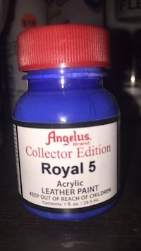 Angelus acrylic leather paint red cap collectors edition shoe restoration supplies  Paramount, 90723