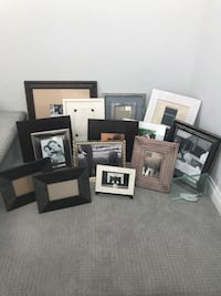 15 Various Size Photo Frames Wall & Stand
