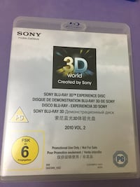Sony Blu-Ray 3D Experince Disc Vol.2