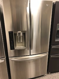 LG stainless Steal French Door Refrigerator  Charlotte, 28134