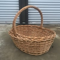 Oversized Wicker Basket