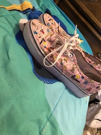 pair of multicolored Nike low-top sneakers Silver Spring, 20906