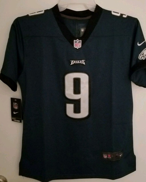 huge discount fff00 6b2c9 Nike NFL Philadelphia eagles #9 Nick Foles Jersey
