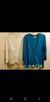 Plus size cardigans size 22/24 Prices Negotiable Vacaville, 95687