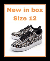 NIKE AIR FORCE 1 '07 LV8 JDI Just Do It size 12 Odessa, 79761