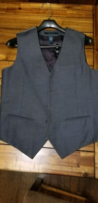 Mens Suit Vest (Gray) Hamilton