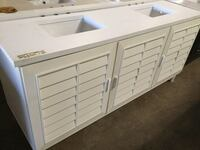 James Martin 72in. Portland Bathroom Vanity ONLY in Cottage White Farmers Branch, 75234