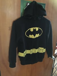 black and yellow Batman pullover hoodie Montréal