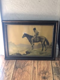 Vintage Native American Painting  North Highlands, 95660