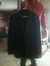 46 black leather jacket Johnson City, 37601