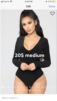 Fashion nova v-neck bodysuit  Hamilton, L8W 1A1