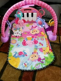 baby's pink and green activity gym Buffalo, 14224