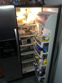 Conquest refrigerator Measurements are 68 inches 1/2 and 35 inches 3/4