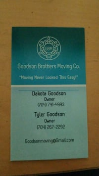 Goodson Brothers Moving Co Wilmington, 28403