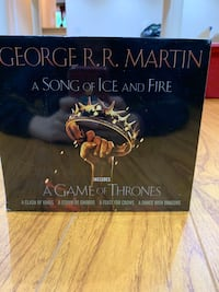 A song of ice and fire collector's edition books Markham, L3P 2H6