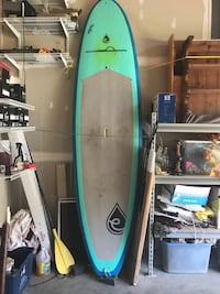 Reduced !! Evolve Paddle Board, Kialoa Paddle and Line.