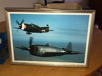 Original Framed World War 2 Aircrafts Rockville, 20853