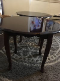 2 cherry end tables  Wilmington