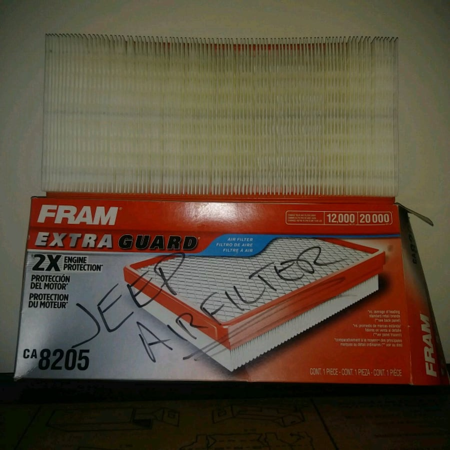 Unused: FRAM EXTRA GUARD FLEXIBLE PANEL AIR FILTER