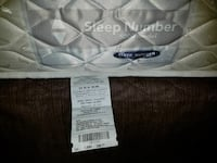 quilted white Sleep Number bed mattress
