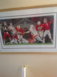 Limited edition maryland football signed print West Friendship, 21738