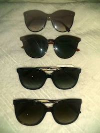 "1pr Fendi  Shades, and 3 pr of Gucci Shades [ ALL ARE REAL]... ""NEW"" Washington, 20009"