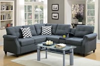 $50 Deposit and it is Yous -Modular Sectional Sofa with USB and storage. U&U Home Budget Furniture Carteret