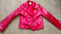 Disney Descendents red faux leather jacket Harpers Ferry, 25425