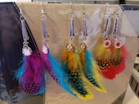 Feather earring sets Oklahoma City, 73118