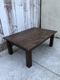 Solid Oak Coffee Table - Excellent Quality