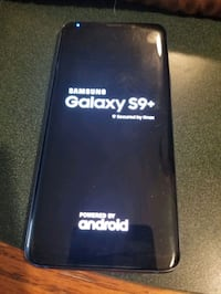 Galaxy s9 plus...unlocked...like new condition with battery case