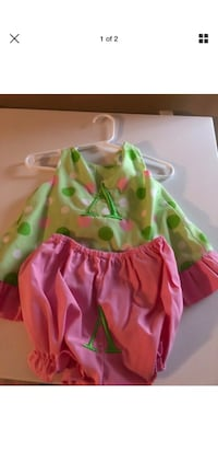 Size 18 month letter A outfit  Holden, 70744