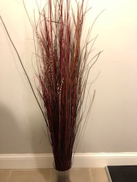 Decorative Standing Red Grass Bundle  Beachwood, 08722