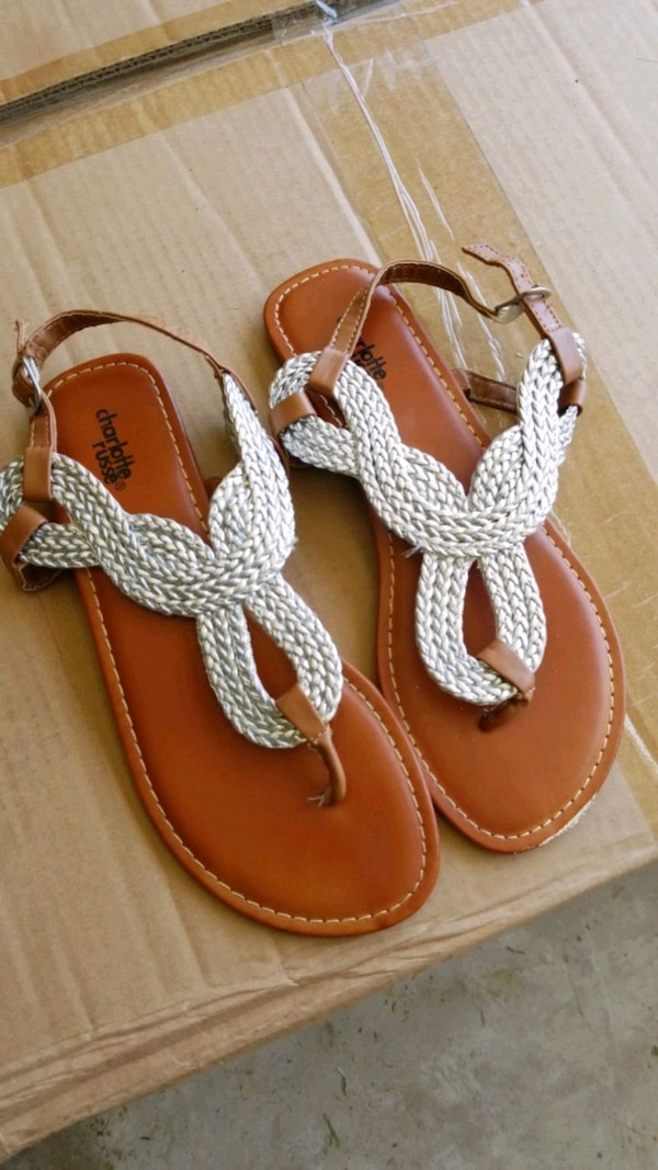 8e6a25095 Used pair of brown leather sandals for sale in Rockwall - letgo