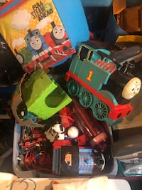 Tons of Thomas Train, wooden, take n play, Trackmaster