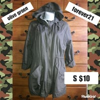Forever21 olive green  Salinas, 93901