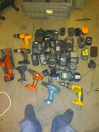 Drills/ batteries/ chargers