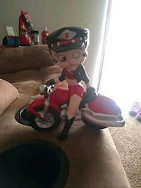 Betty boop on a motorcycle u pick up
