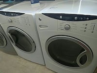 white front-load washer and dryer set Mount Clemens, 48043