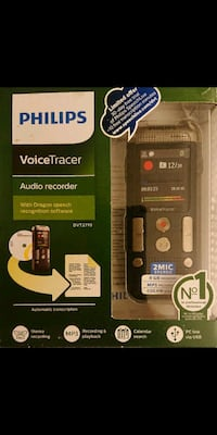 Philips VoiceTracer With Dictation Software-DVT2710 Glendale, 85308