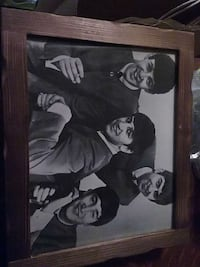 Beatles picture with Frame Revere, 02151