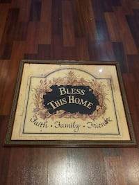 Bless This Home Frame Mississauga, L4Y 3A7