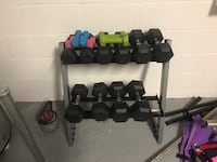 Dumbbells and adjustable weight kettle bell  Riverview, 33579