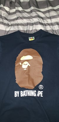 Authentic BAPE tee Edmonton, T6C 0X6