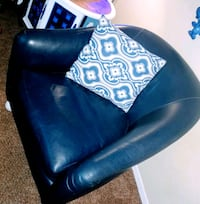 Nact blue leather chair North Richland Hills, 76180