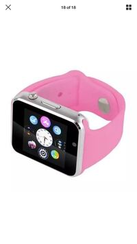 Pink and black smart watch Rochester, 14623