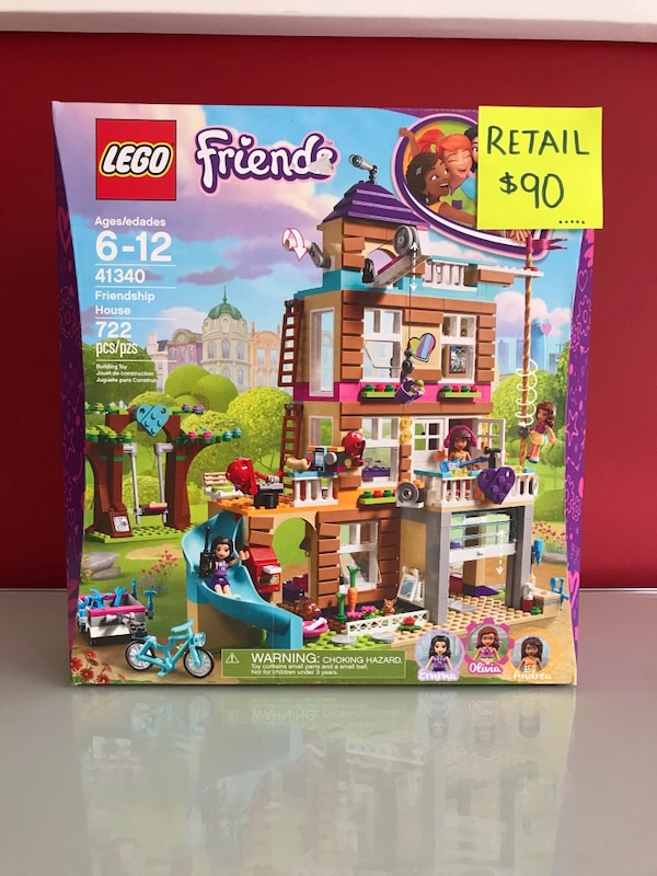 Used Lego Friends 41340 Friendship House For Sale In Vaughan Letgo