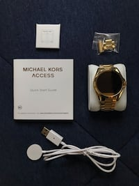 Michael Kors Gold Bradshaw Access Smart watch